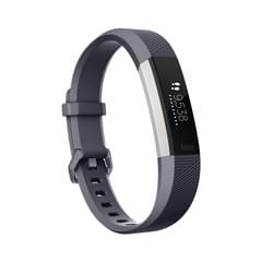 fitbit ALTA HR blue gray Small